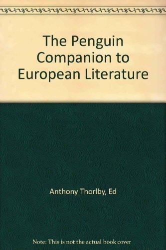 9780704927940: Penguin Companion to European Literature