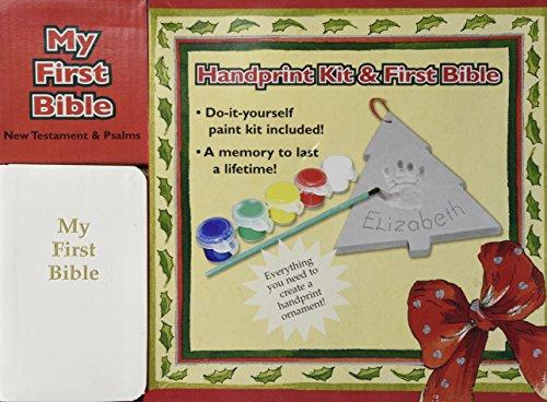 9780705341783: Handprint Kit & First Bible (New Testament and Psalms)