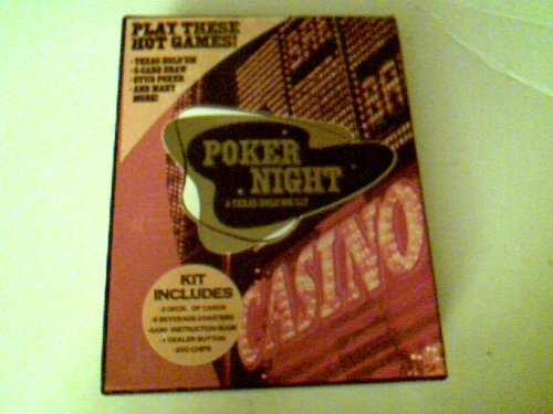 9780705341882: Poker Night: A Texas Hold'em Kit- The All-In-One Card Set!