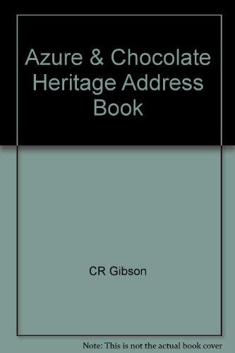 9780705345149: Azure & Chocolate Heritage Address Book
