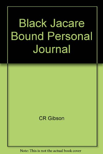 9780705352956: Black Jacare Bound Personal Journal