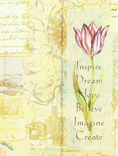 9780705358170: Journal W/magnetic Flap - Inspire, Dream, Hope, Believe, Imagine, Create