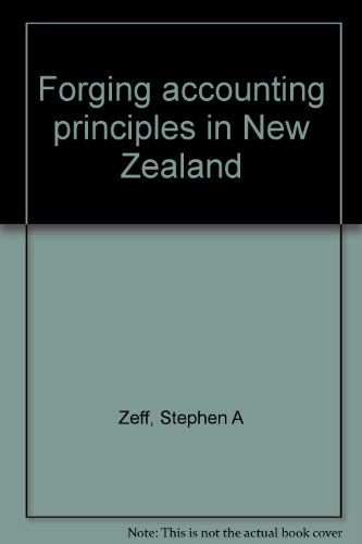 9780705507042: Forging accounting principles in New Zealand
