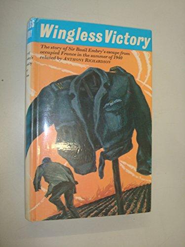 9780705700085: Wingless Victory (Morley war classics)