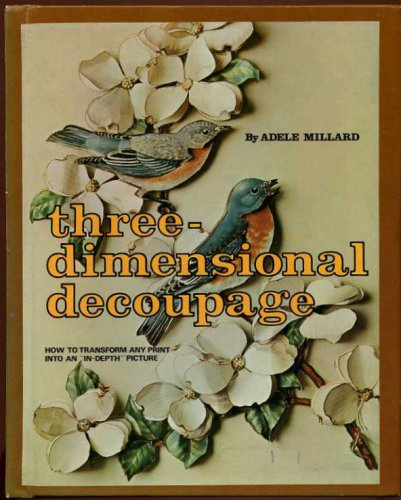 9780706120929: Three-dimensional Decoupage
