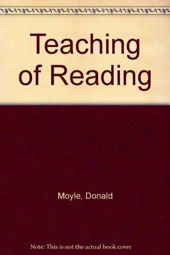 9780706231236: Teaching of Reading