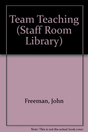 9780706232967: Team Teaching (Staff Room Library)