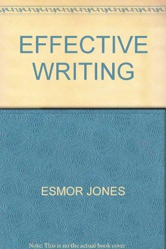 9780706234145: Effective Writing
