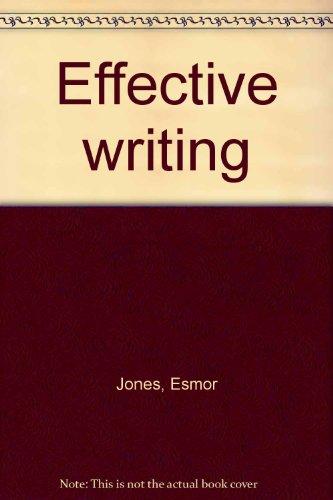 9780706234152: Effective writing