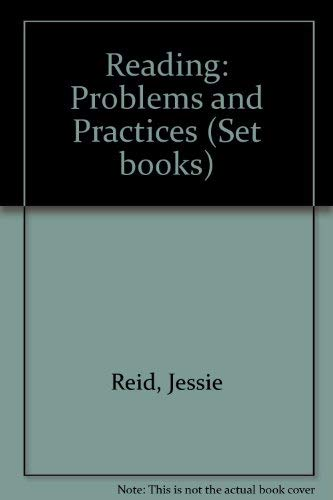 9780706236538: Reading: Problems and Practices (Set books)