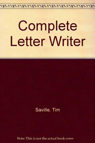 9780706310665: Complete Letter Writer