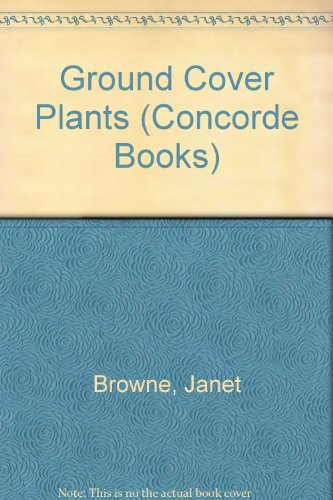 9780706358780: Ground Cover Plants