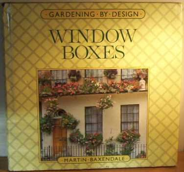 9780706364514: Window Boxes (Gardening by design)