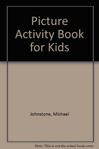 Picture Activity Book for Kids