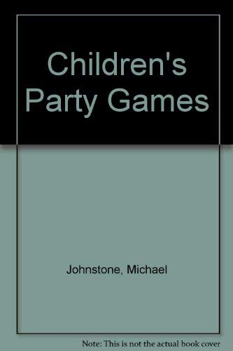 9780706366112: Children's Party Games (Family matters)