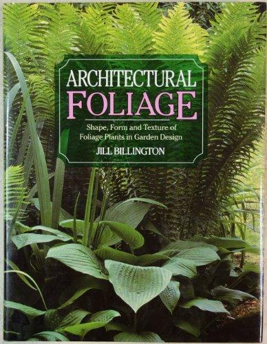 9780706369625: Architectural Foliage