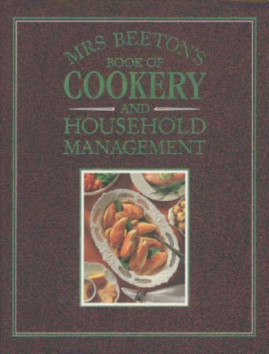 9780706371017: Mrs Beeton's Book of Cookery and Household Management.
