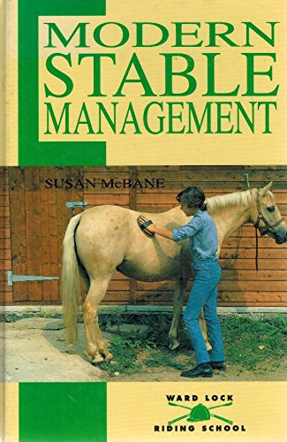 Modern Stable Management (Ward Lock Riding School) (0706371968) by Susan McBane
