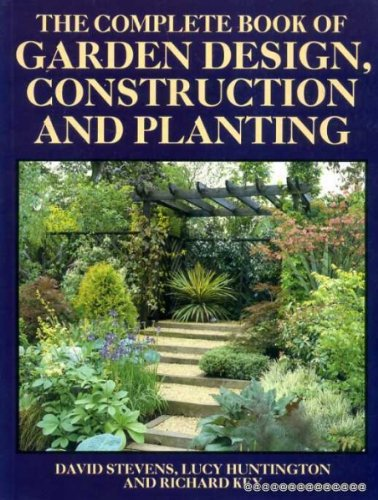 9780706372342 The Complete Book of Garden Design Construction