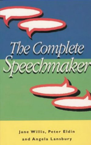 The Complete Speechmaker (0706376471) by Jane Willis