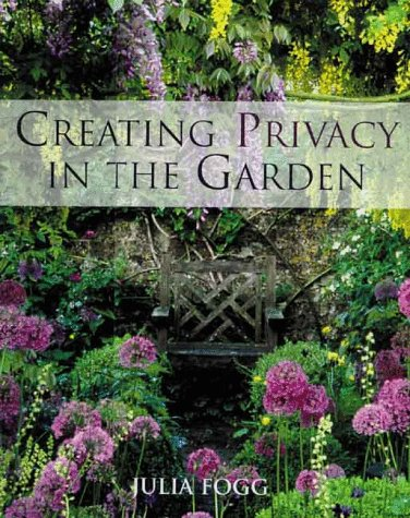 Creating Privacy in the Garden 9780706377101 Turn a garden into a serene place that seems far away from life's noise and bustle. Assess your garden and consider how you would like to use it, then define boundaries, put in overhead screening, introduce smaller gardens within your garden, add oases and havens, and attract the eye using focal points. Small or large, your garden can afford you the privacy you need.