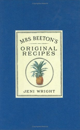 Mrs.Beeton's Original Recipes (0706378156) by Mrs. Beeton