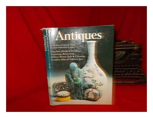 9780706401554: Antiques: Victoriana, Boxes, Fans, Chinese Bronze, Jade & Ceramics, Samplers, Pipes & Tobacco Jars, Porcelain, Clocks & Watches