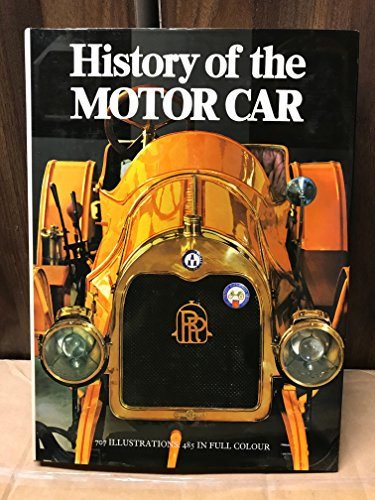 9780706402216: History of the Motor Car
