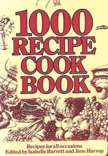 9780706405316: 1000 Recipe Cook Book