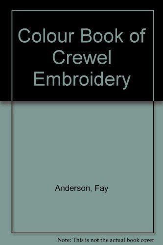 9780706406382: Colour Book of Crewel Embroidery