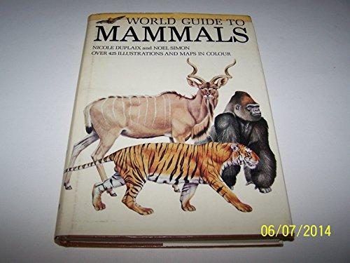 9780706406719: World guide to mammals