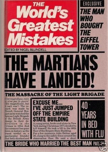 9780706411287: The world's greatest mistakes