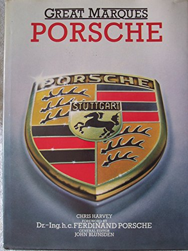 9780706413700: Porsche (Great Marques)