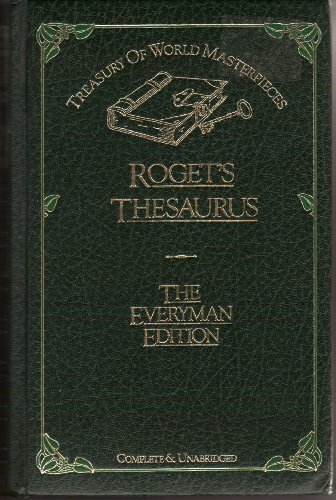 Thesaurus of English Words and Phrases (0706416511) by PETER ROGET