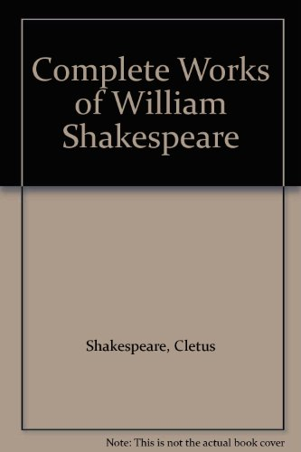 9780706418767: The Complete Works of William Shakespeare: The Cambridge Text Established by John Dover Wilson
