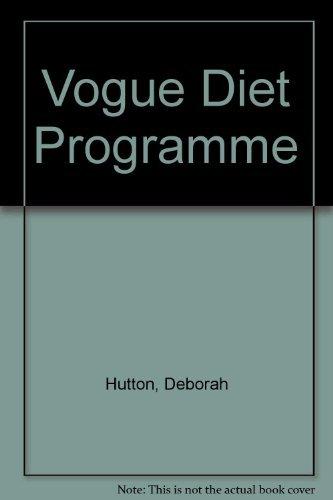9780706420760: Vogue Diet Programme