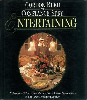 9780706423686: Cordon Bleu and Constance Spry Entertaining