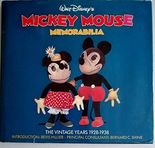 9780706428407: Walt Disney's Mickey Mouse Memorabilia: The Vintage Years, 1928-38