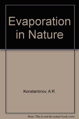 9780706504064: Evaporation in Nature