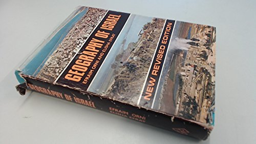 9780706511246: Geography of Israel