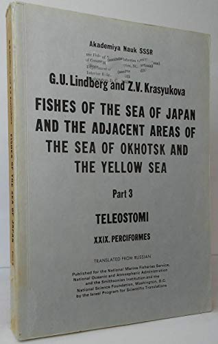 Fishes of the Sea of Japan and: G.U. Lindberg and