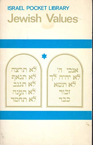 Jewish Values (Israel Pocket Library)