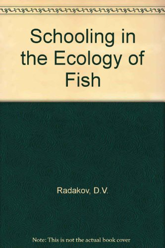 9780706513516: Schooling in the Ecology of Fish