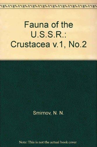 Chydoridae: Chydoridae Fauny Mira, Fauna of the U. S. S. R., Volume 1, No. 2: Smirnov, Nikolai ...