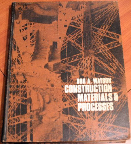 9780706846775: Construction Materials & Processes