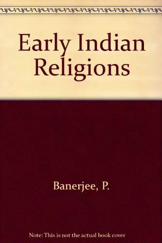 9780706901818: Early Indian Religions