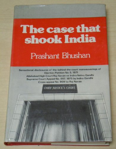 9780706905946: The Case That Shook India