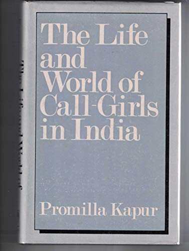 9780706906097: Life and World of Call-girls in India
