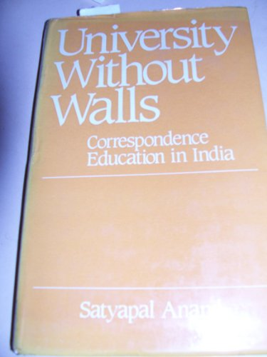 University Without Walls.: Anand, Satyapal