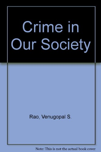 crime in our society How to reduce crime our present unwillingness to execute the most grotesque evildoers speaks loudly to criminals about our society and its ideological climate.